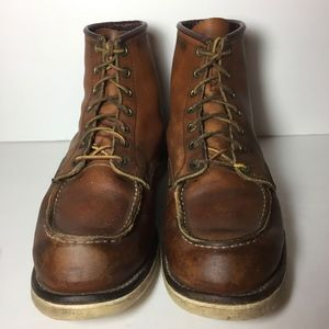 Red Wing® 875 Classic Moc Brown Boots Size 11 D